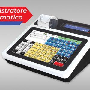 Registratore di cassa Italretail con touchscreen e funzioni programmabili
